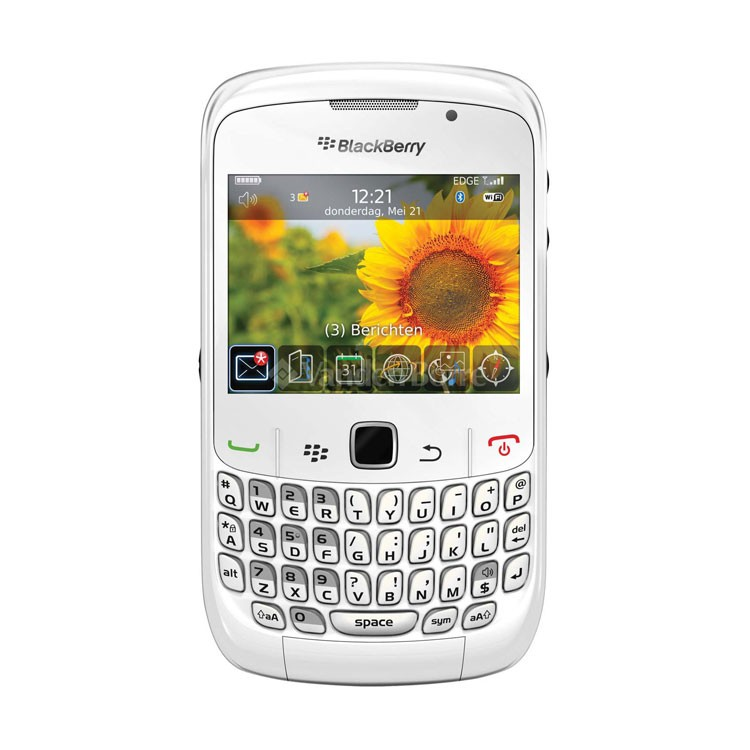 Blackberry curve 9300 white : Redes japonesas