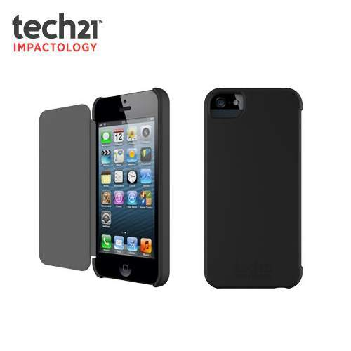 iPhone 5 5S SE Tech21 T21-1818 Impact Snap Cover Case with D3O : Black