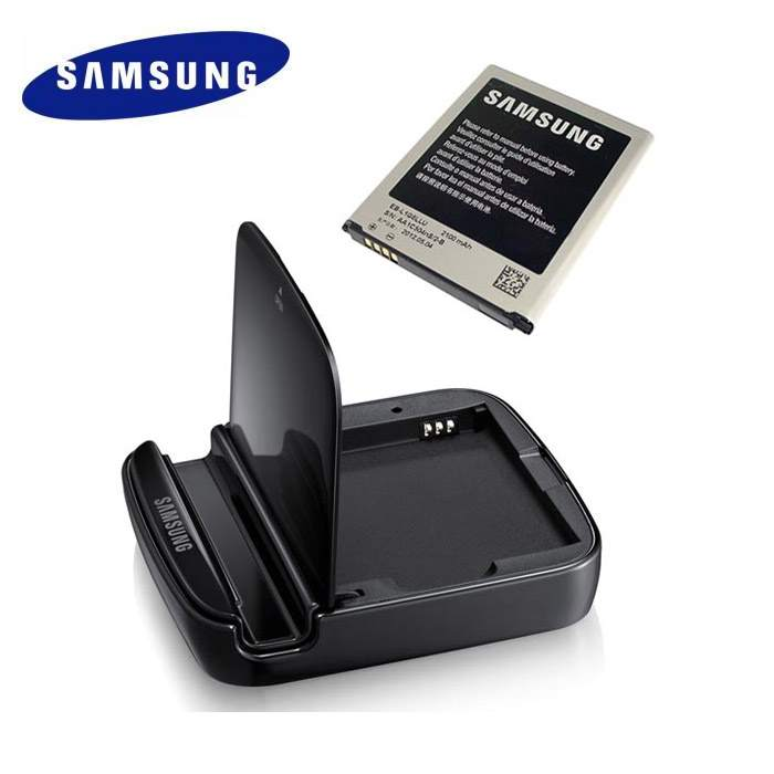 GENUINE SAMSUNG GALAXY S3 i9300 EXTRA BATTERY KIT DESKTOP STAND S3
