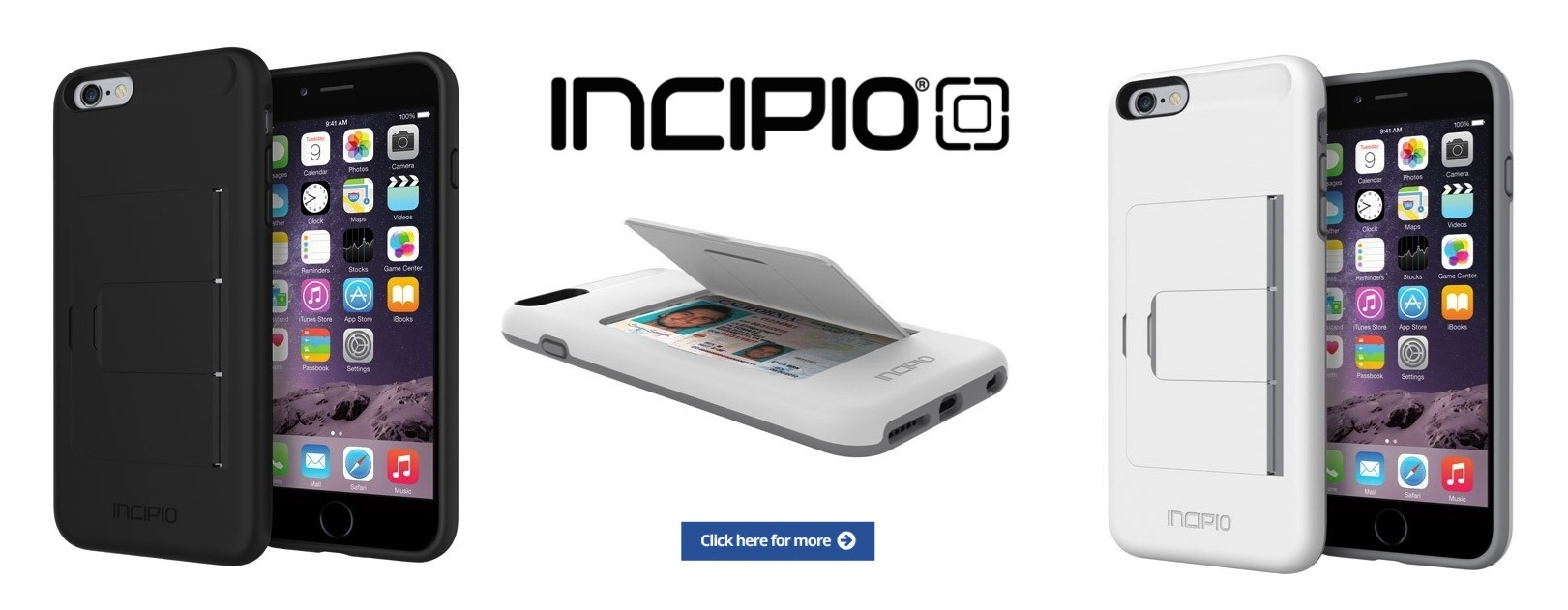 INCIPIO IPHONE 6 CASES