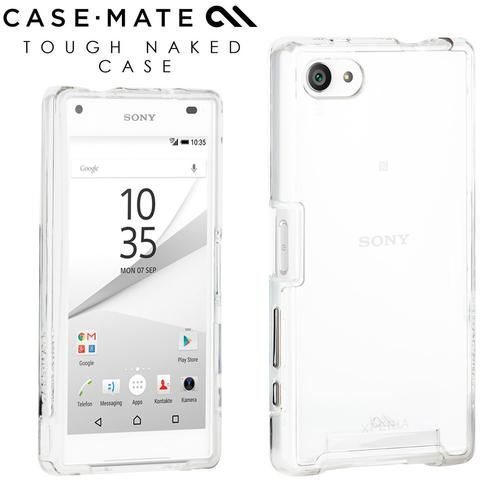 uk availability ab887 aa293 Case-Mate Sony Xperia Z5 Compact Tough Naked Case | Clear