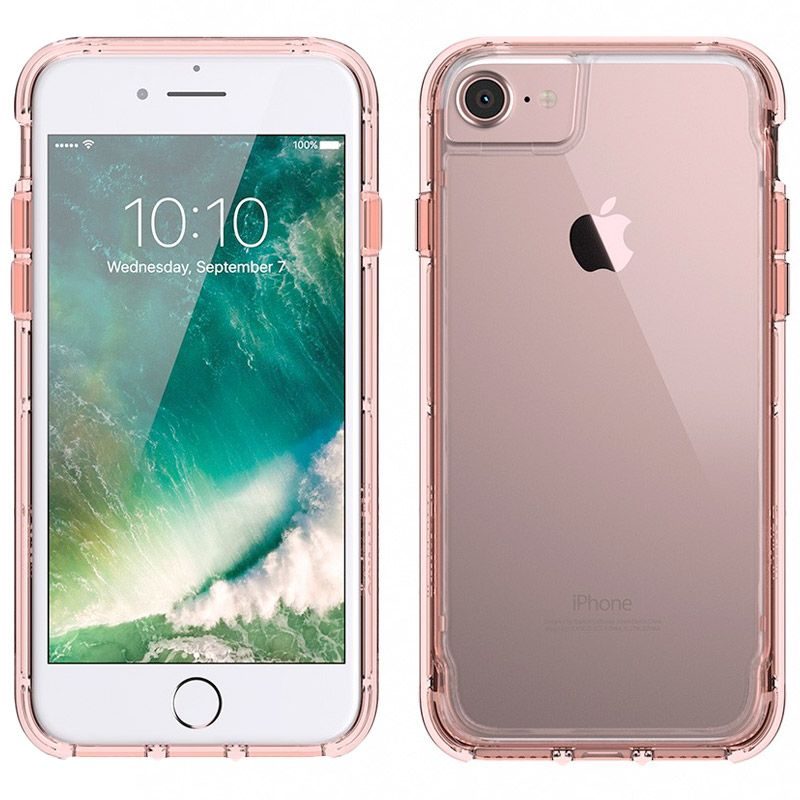 clear rose gold iphone 7 case