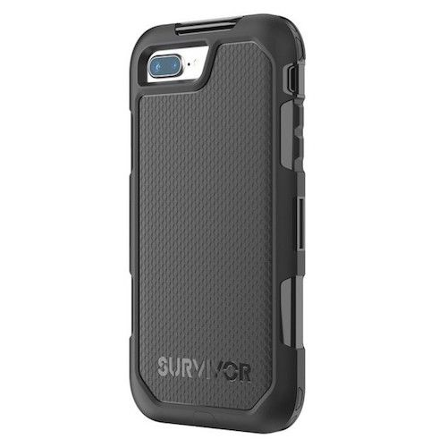 pretty nice 16d5f a2cbd Griffin Survivor Extreme iPhone 8 / 7 PLUS Case | Black/Smoke