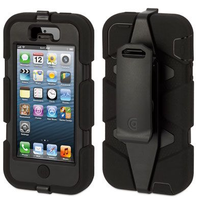 pretty nice 0a0e9 d90b1 Griffin Survivor iPhone 5 / 5S / SE | Black