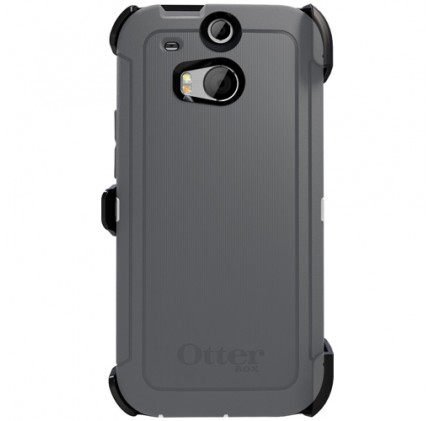 sale retailer 27f91 46ef4 HTC One M8 Otterbox Defender Series Case | Glacier