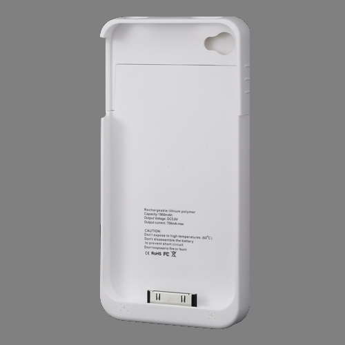 the latest 67099 a8cfa iPhone 4 4S Essential Backup Battery Case | Black or White