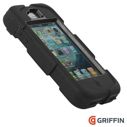 iphone 4 4s griffin survivor case black. Black Bedroom Furniture Sets. Home Design Ideas