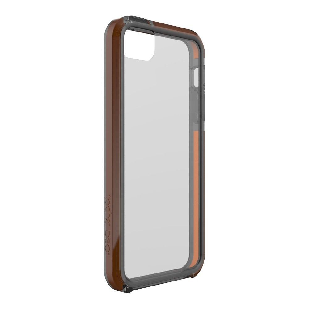 iphone 5 tech21 t21 1832 impact band case smokey. Black Bedroom Furniture Sets. Home Design Ideas