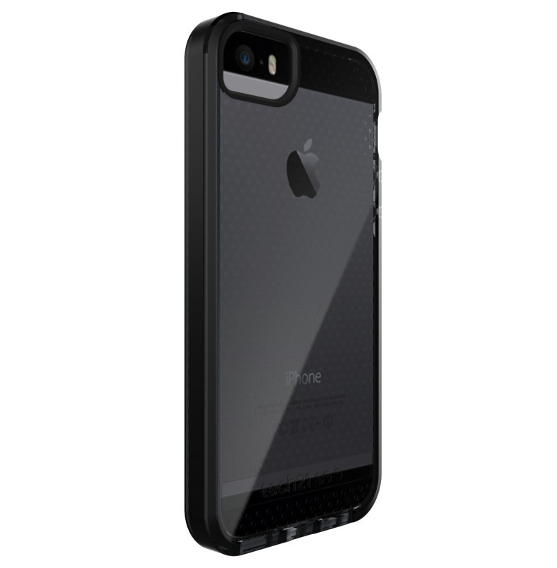 uk availability 38456 1e9a5 iPhone 5 / 5S / SE Tech21 T21-5168 Evo Mesh Case with FlexShock | Smokey