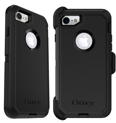 best website 55c19 4fc69 iPhone 8 / 7 / 6S / 6 Otterbox Defender Series Case | Black