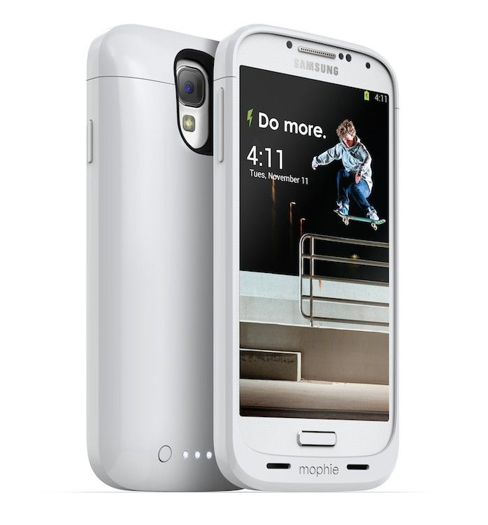 the latest f5d68 a591b Mophie Juice Pack Samsung Galaxy S4 Case | White