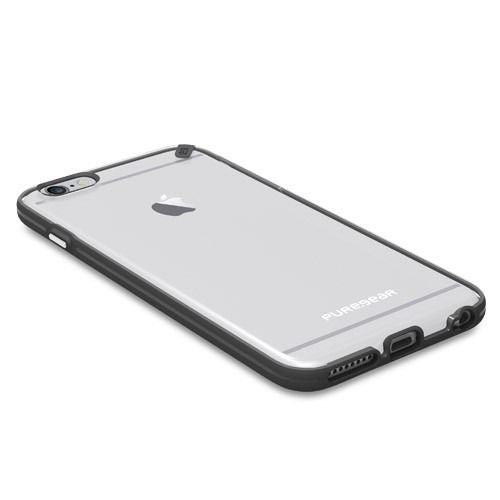 outlet store sale 946fb 62904 Puregear iPhone 6S / 6 PLUS Slim Shell Case | Clear/Black