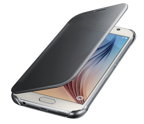 cover samsung s6 clear view